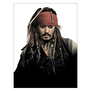 Pirates of the Caribbean. Размер: 45 х 60 см